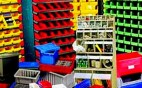 industrial shelving systems.