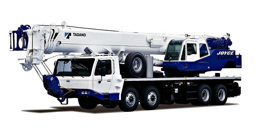 The Unique 60 tonne crane trucks