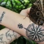 Unique Compass Tattoo: History Interpretations And Ideas