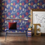Dark Blue Wallpaper: A Creative Home Bursting With Glorious Decor