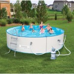 Unique Summer Days with Above-Ground Swimming Pools