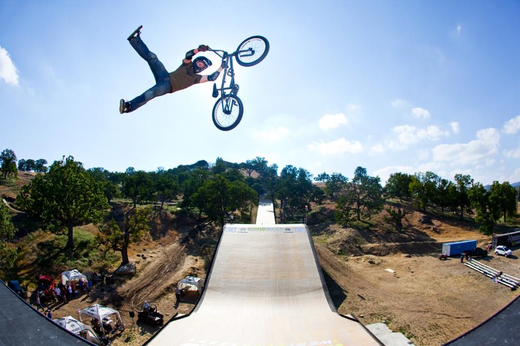 Dirt jump bmx