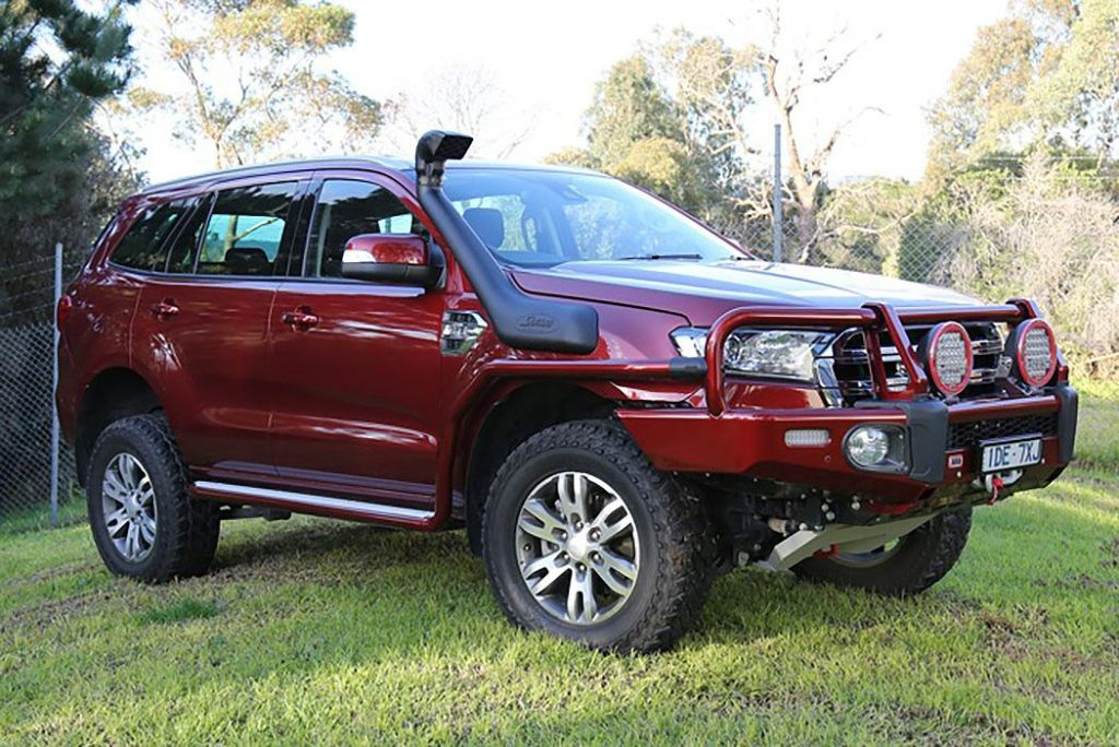 ford everest aftermarket accessories