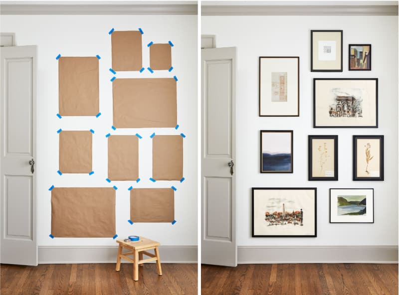 how to hang posters with precision