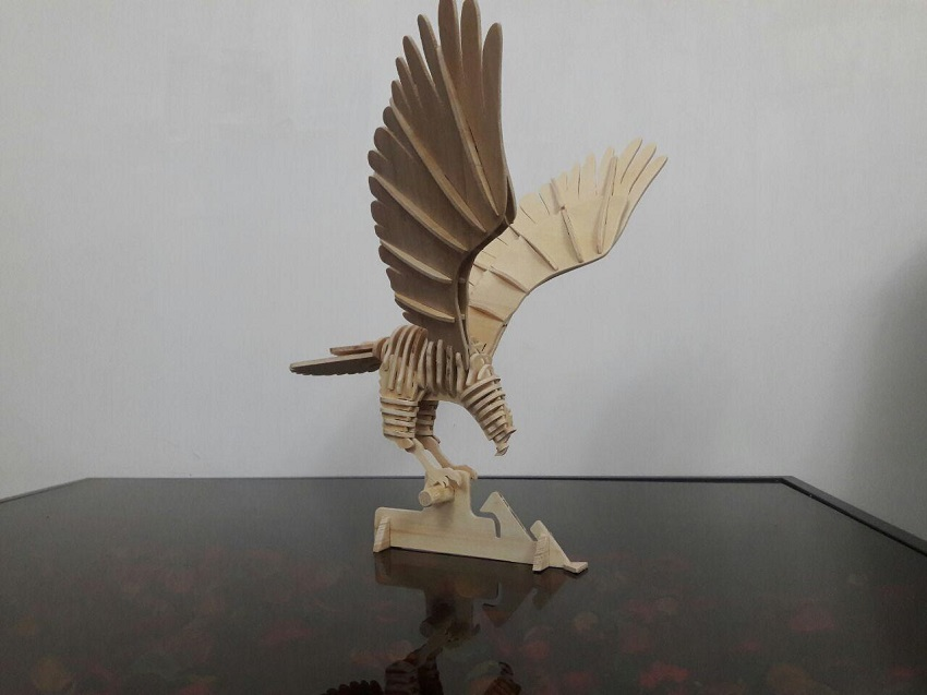 3D Laser Cutted Eagle