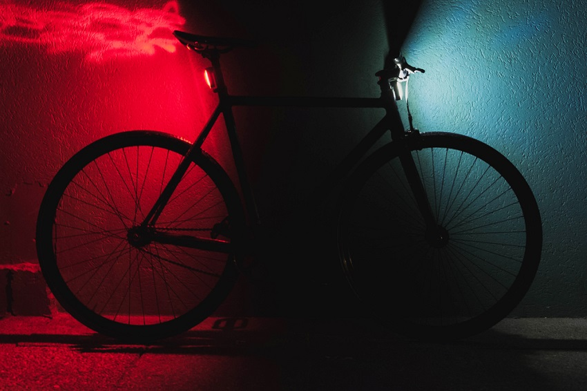 front and back bike lights