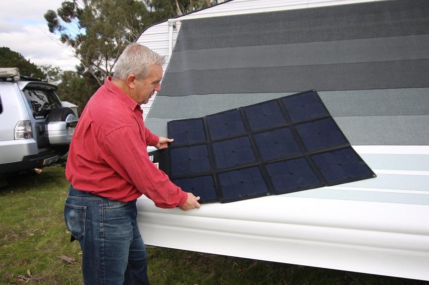 camping solar blanket