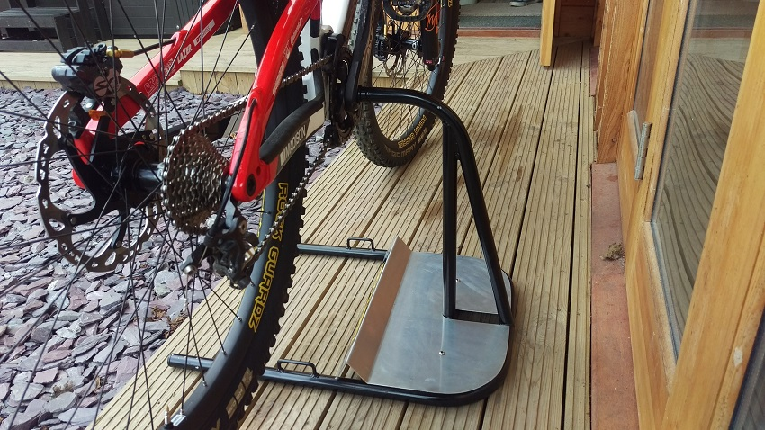 bicycle floor rack