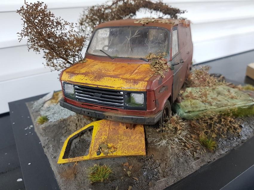 Scale Model van
