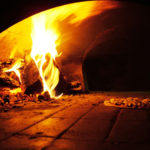 pizza oven wood fire brick