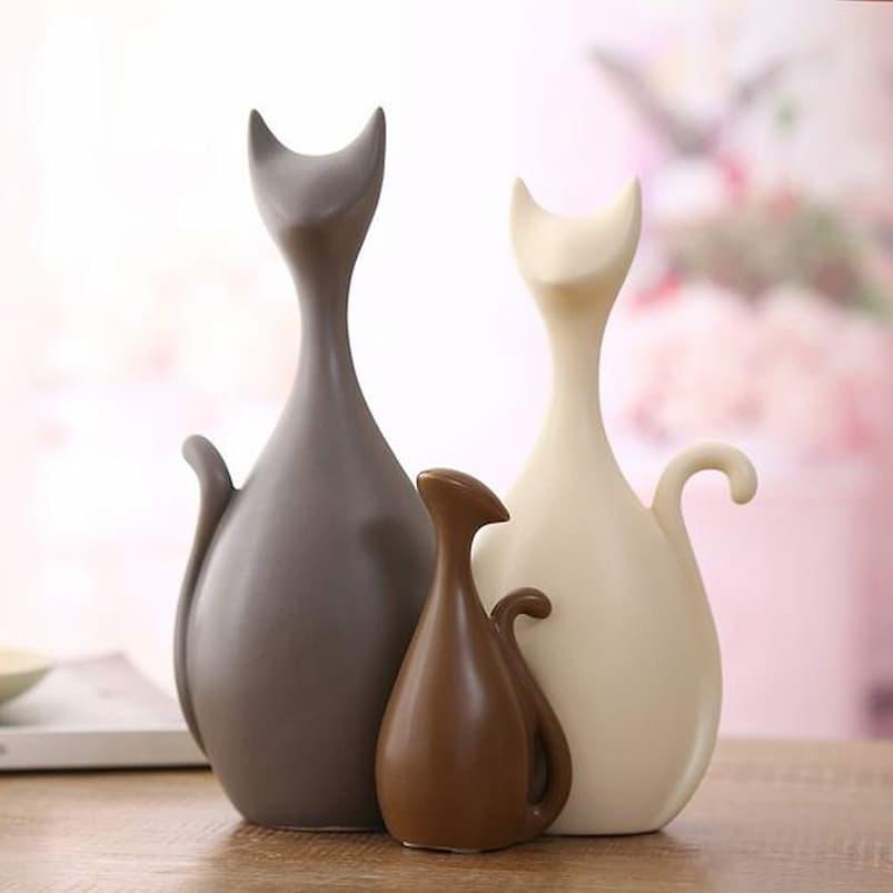 cats sculptures
